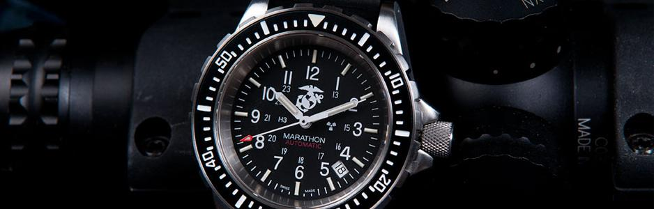 DIVERS AUTOMATIC WITH-USMC-TOP