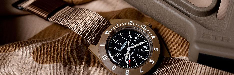 DUVDEVAN NAVIGATOR PILOTS-QUARTZ WITH-DATE-TOP